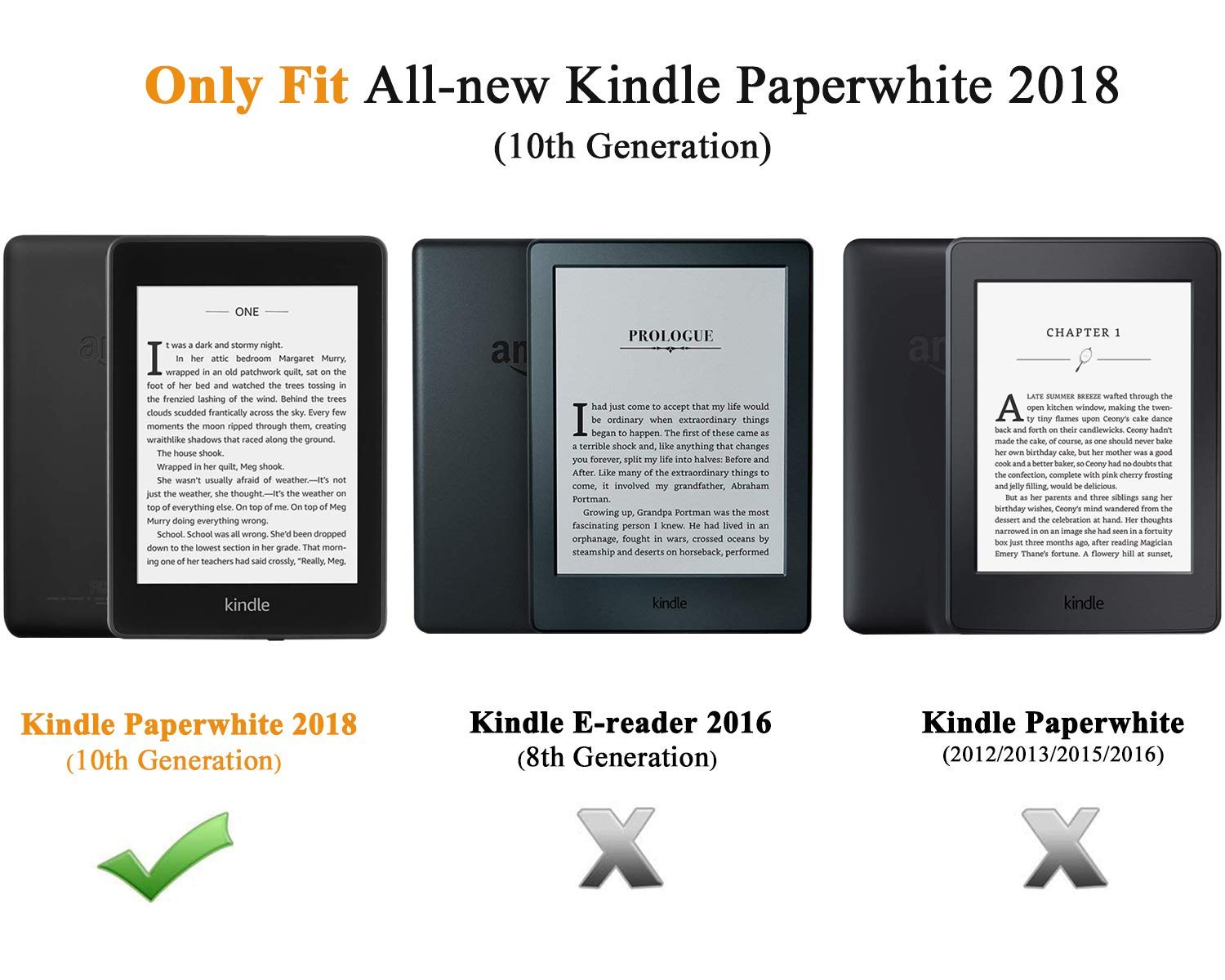 TiMOVO Case for Kindle Paperwhite E-reader (10th Generation